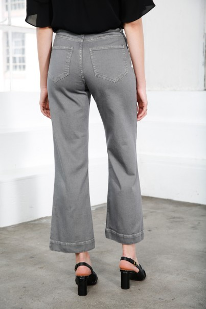 Jane Pants - Washed Grey