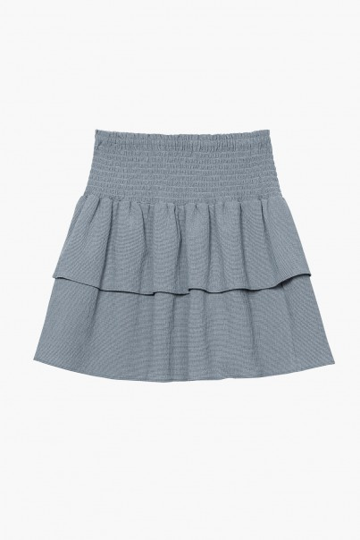 April Skirt – Chalk Blue